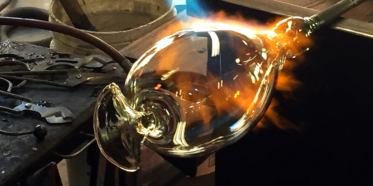 Noisefold Glass Blowing
